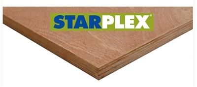 Starplex WBP 2440x1220x09mm (Mix Hardwood BB/CC) CE2+, FSC